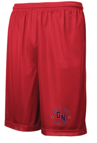 PosiCharge Classic Mesh Short / 3 colors / Great Neck Baseball
