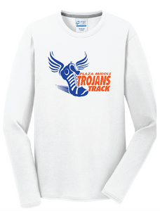 Plaza Trojans Track Long Sleeve T-Shirt - Fidgety
