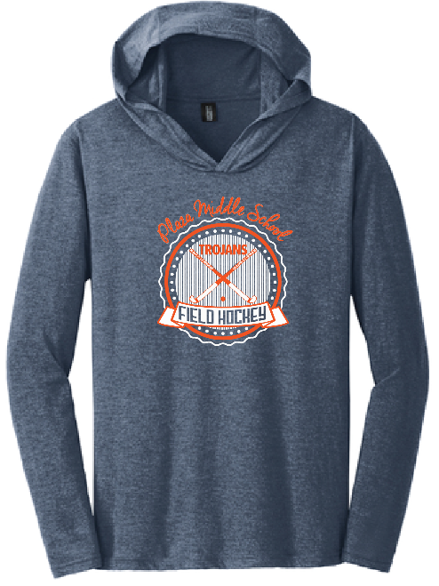 Plaza Field Hockey T-Shirt Hoody - Fidgety