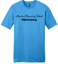 Alanton Be Amazing Turquoise T-Shirt - Men's - Fidgety