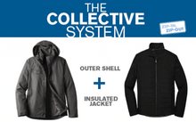 Collective Outer Shell Jacket / Blue / Grassfield - Fidgety
