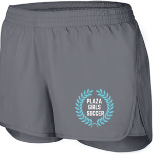 Wayfarer Shorts / Graphite / Plaza Girls Soccer - Fidgety