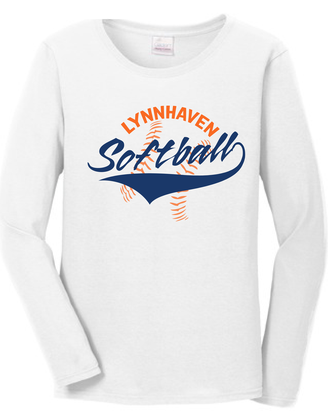 Lynnhaven Softball Long Sleeve Shirt - Fidgety