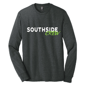Long Sleeve Softstyle T-Shirt (Youth & Adult) / Charcoal Grey / Southside Crew