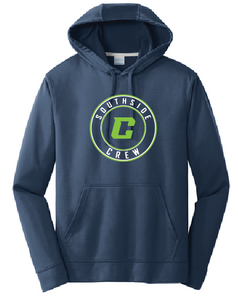 Performance Fleece Pullover Hooded Sweatshirt (Youth & Adult) / Navy / Southside Crew