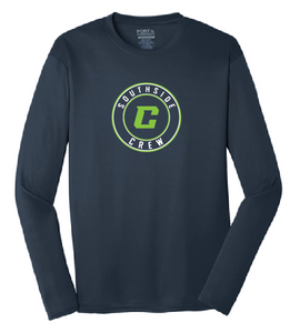 PosiCharge Performance Long Sleeve Tee / Navy / Southside Crew