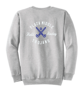Crewneck Sweatshirt / Ash Gray / Plaza Field Hockey - Fidgety
