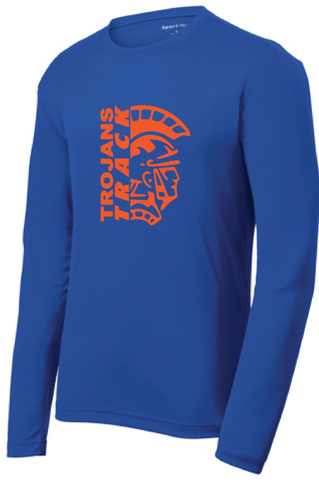 RacerMesh Long Sleeve Tee / Royal / Plaza Track - Fidgety