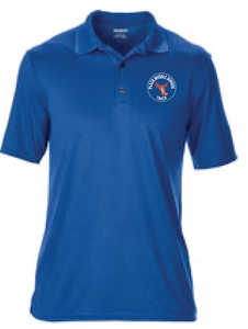 PosiCharge RacerMesh Polo / Royal / Plaza Track - Fidgety