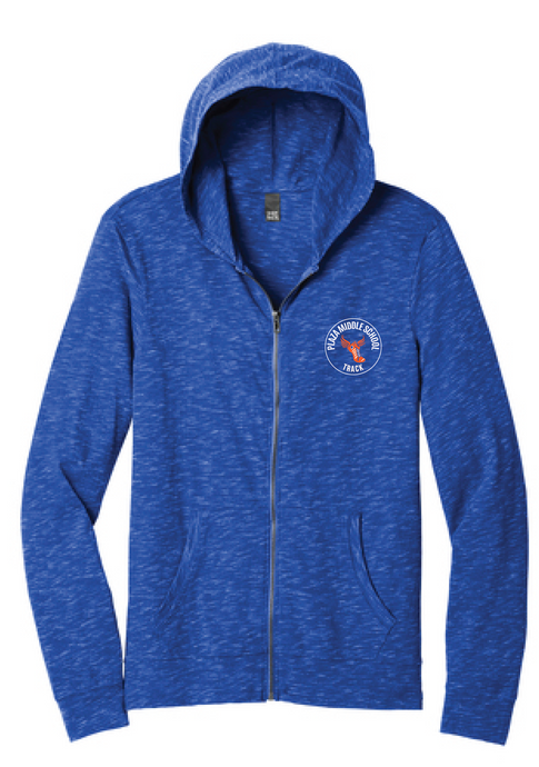 Full-Zip Hoodie / Deep Royal / Plaza Track - Fidgety