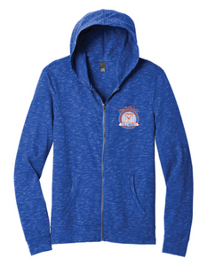 Medal Full-Zip Hoodie / Deep Royal / Plaza Field Hockey - Fidgety