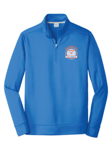 Performance Fleece 1/4-Zip Pullover Sweatshirt / Royal / Plaza Field Hockey - Fidgety