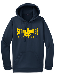 Performance Fleece Hooded Pullover (Youth & Adult) / Navy / StoneBridge Baseball