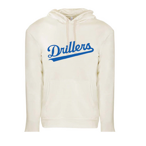 Pullover Hooded Sweatshirt / Natural / Tidewater Drillers - Fidgety