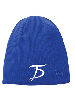 Knit Beanie / Cool Blue / Tidewater Drillers - Fidgety