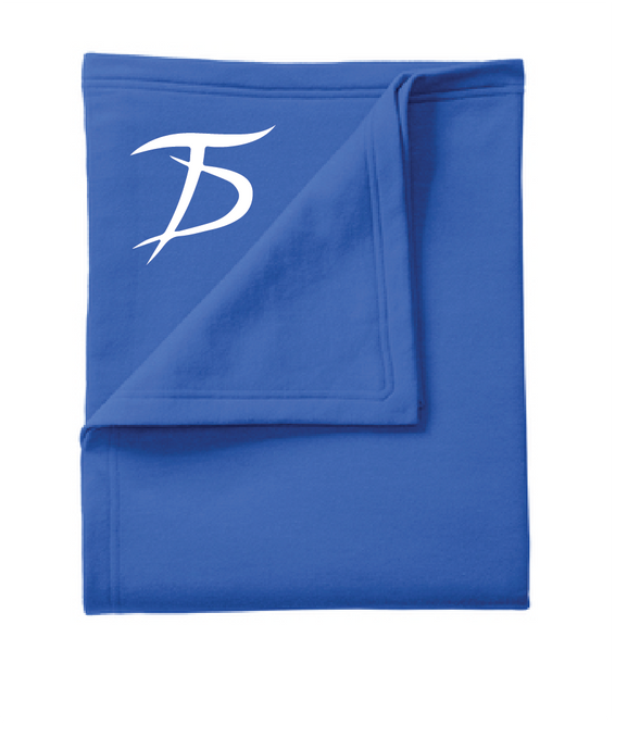 Core Fleece Sweatshirt Blanket / Royal / Tidewater Drillers - Fidgety
