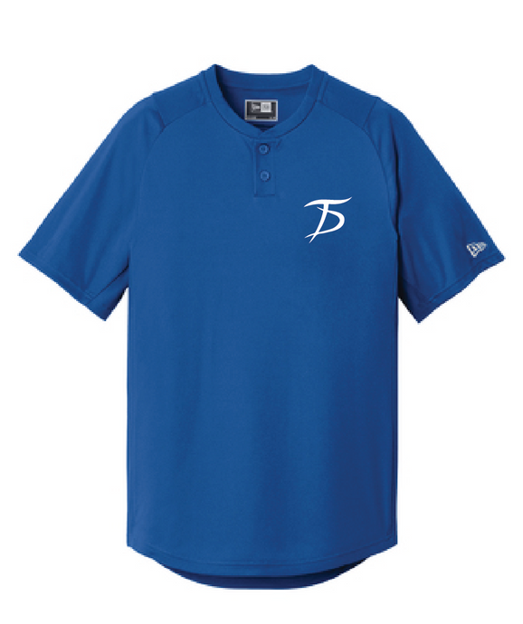 Diamond Era 2-Button Jersey / Royal / Tidewater Drillers - Fidgety