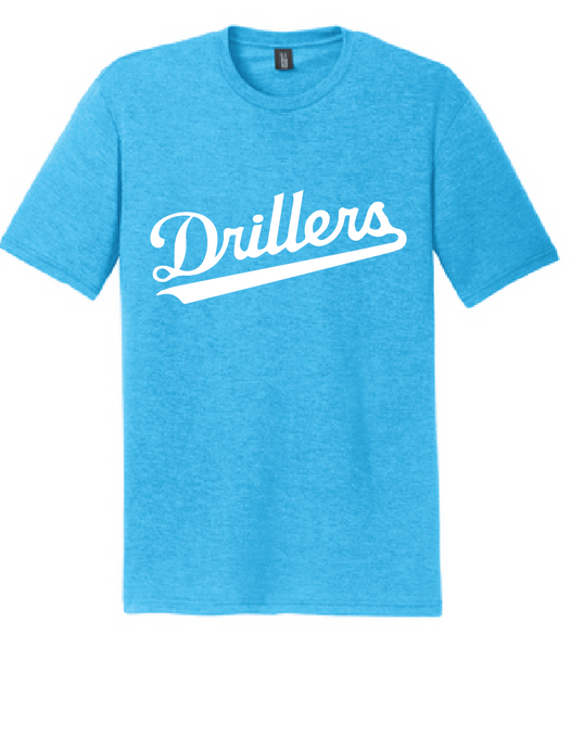 Perfect TriBlend Tee / Turquoise Frost / Tidewater Drillers - Fidgety