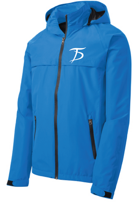 Torrent Waterproof Jacket / Direct Blue / Tidewater Drillers - Fidgety