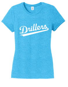 Women's Perfect TriBlend Tee / Turquoise Frost / Tidewater Drillers - Fidgety