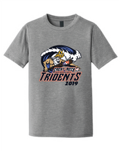 Youth Triblend Crew T-Shirt / Tridents Baseball - Fidgety