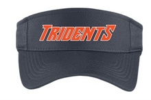 Visor / Gray / Tridents - Fidgety