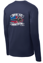 PosiCharge RacerMesh Long Sleeve Tee / Navy Blue / VFC-12 - Fidgety