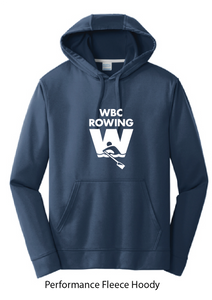 Performance Hooded Sweatshirt / Navy / WBC - Fidgety