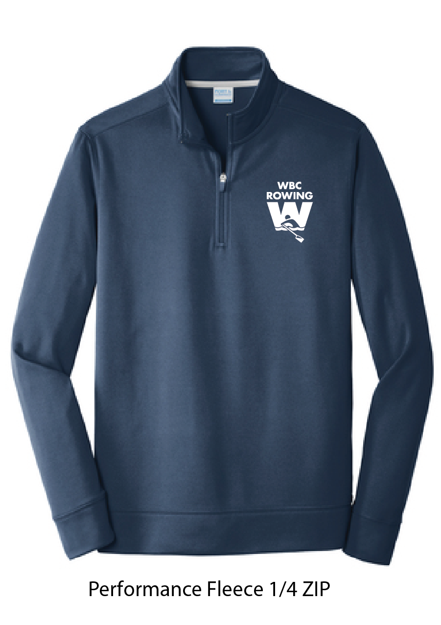 Performance 1/4 Zip Pullover / Navy / WBC - Fidgety