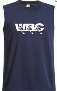 Men's Dri-Fit Muscle Tee / Navy / WBC - Fidgety