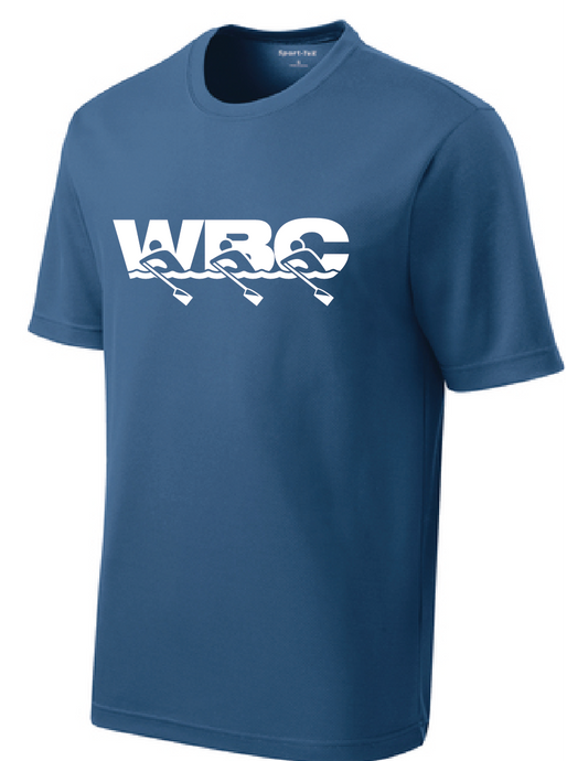 PosiCharge Racer Mesh Athletic Tee / Dawn Blue / WBC - Fidgety