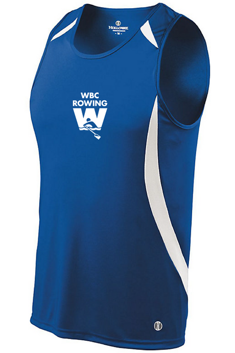 Singlet Performance Tank / Royal / WBC - Fidgety