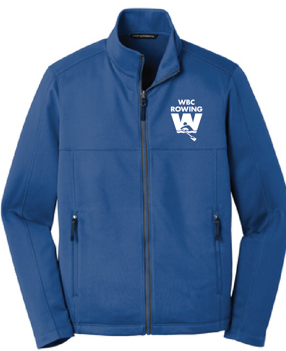 Collective Smooth Fleece Jacket / Blue / WBC - Fidgety