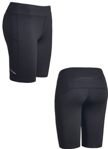 Women's Fitness Shorts / Black / WBC - Fidgety