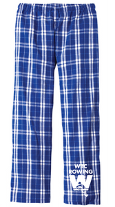 Flannel Plaid Pant / Royal / WBC - Fidgety