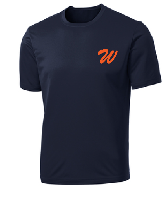 Practice Jersey Performance Shirt (Youth & Adult) / Navy / Wahoos