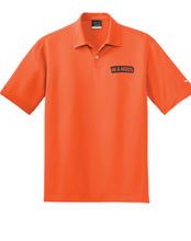Nike Dri-FIT Pebble Texture Polo / Brilliant Orange / Wahoos - Fidgety
