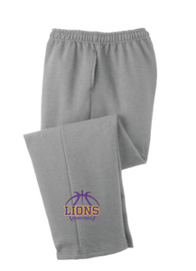 Fleece Sweatpants / Gray / Larkspur Basketball - Fidgety