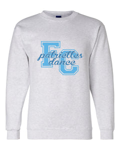 Crew neck Sweatshirt / Gray  / FC Dance - Fidgety