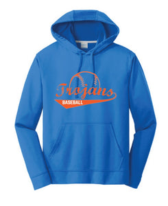 Plaza TROJANS Baseball Performance Sweatshirt - Fidgety