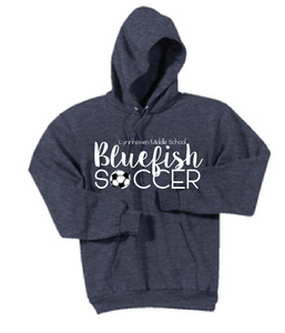 Bluefish Soccer Fleece Sweatshirt / Navy / LMS Girls Soccer - Fidgety