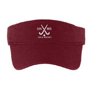 Visor / Maroon / Great Neck Field Hockey - Fidgety
