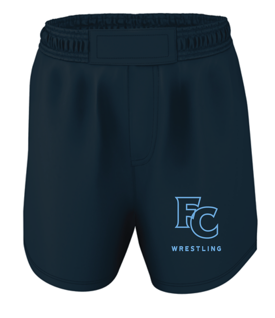 Wrestling Shorts (Youth & Adult) / Navy / FC Wrestling