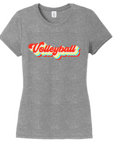 Vintage Volleyball Triblend Tee / Grey Frost / Fidgety