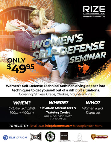 Event - 2019.10.20 - Women's Self Defense (WSD) 2.0