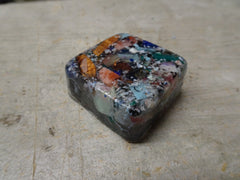 Recycled resin casting