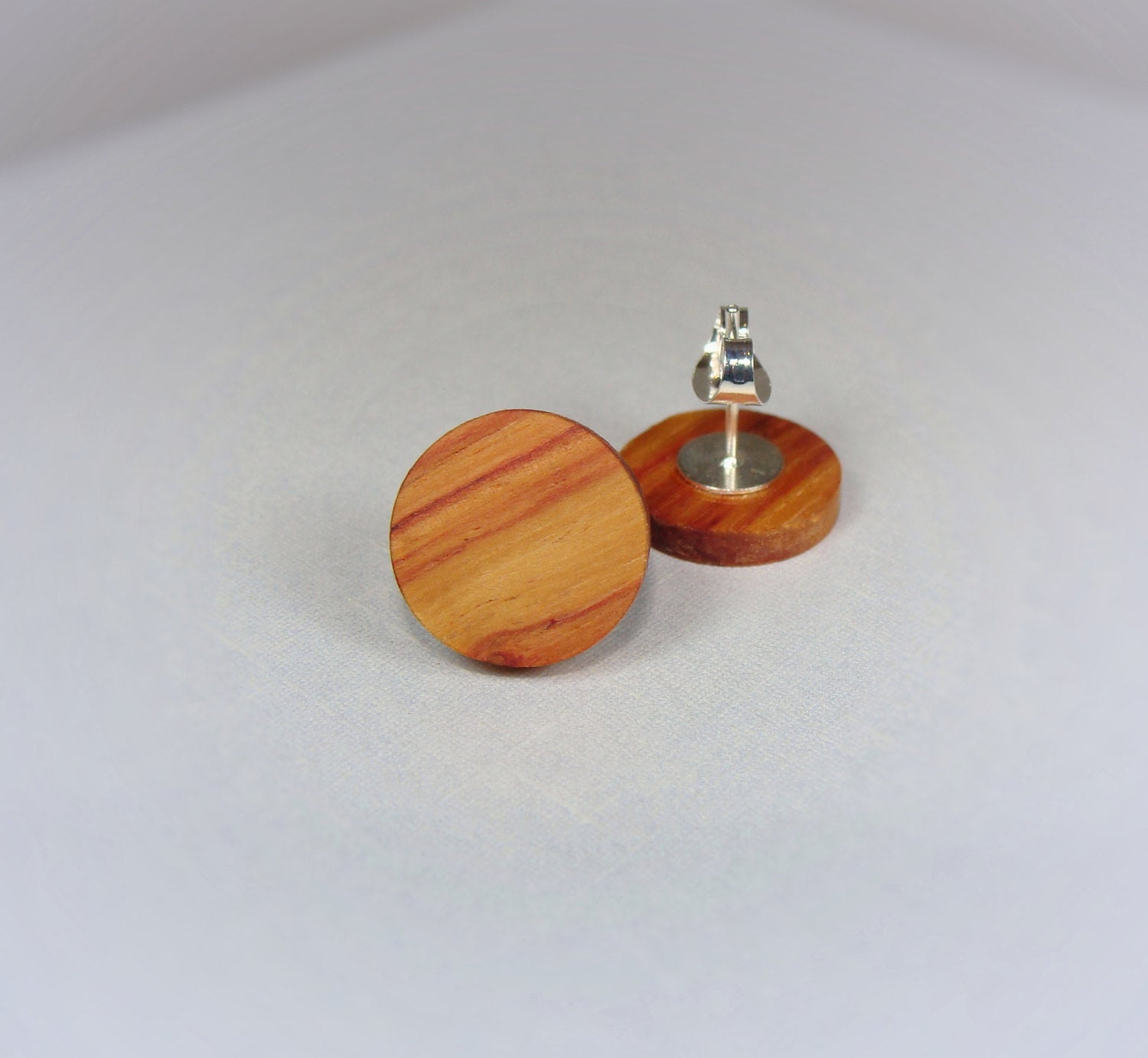 Tulipwood Stud Earrings - Multiple Sizes - Art and Soule