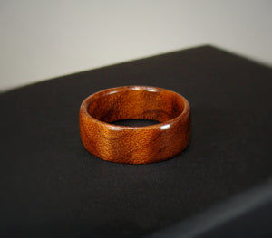 Roasted Maple Solid Wood Ring - Art and Soule