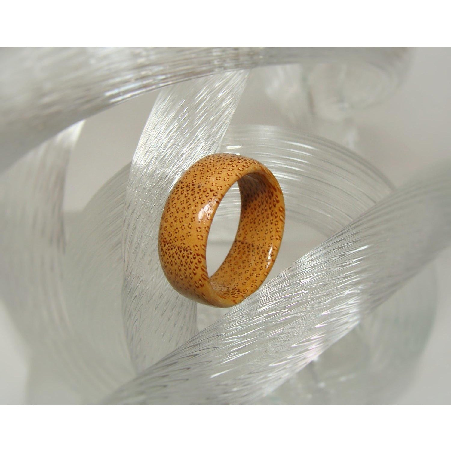 Bamboo Solid Wood Ring - Art and Soule