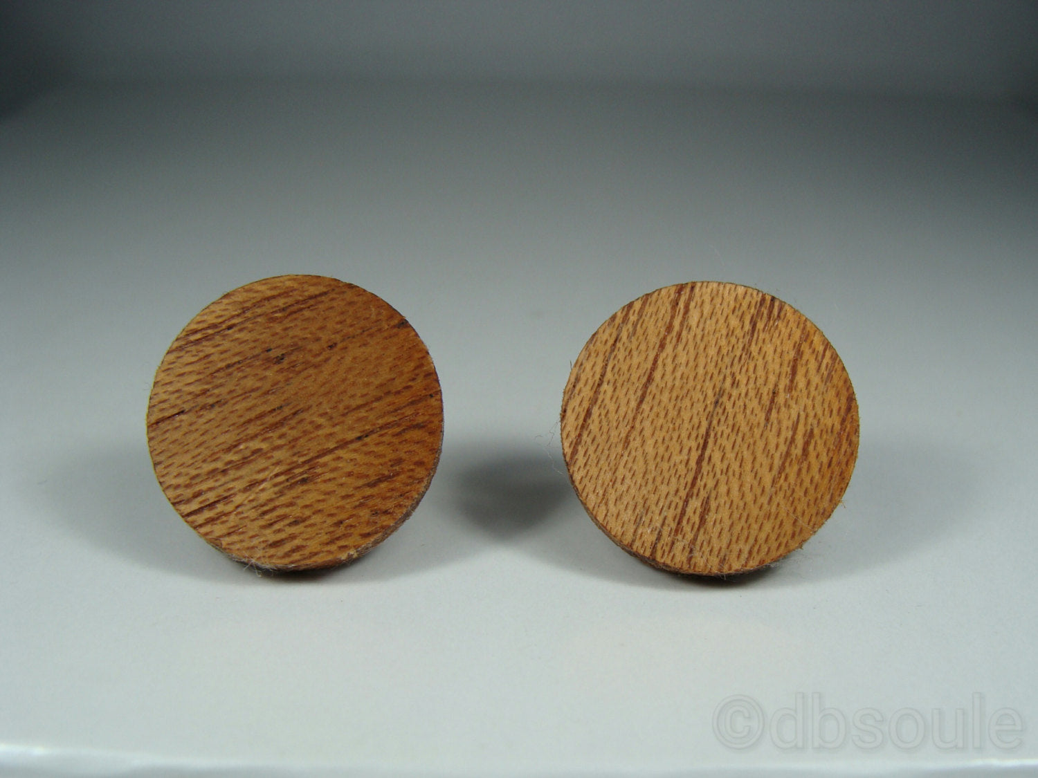 African Mahogany Earrings - Stud or Dangle - Multiple Sizes - Art and Soule